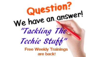 Free Weekly trainings w/ Kathy Pop