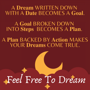 A goal with no action is just a dream- Join a mastermind group and make that dream reality